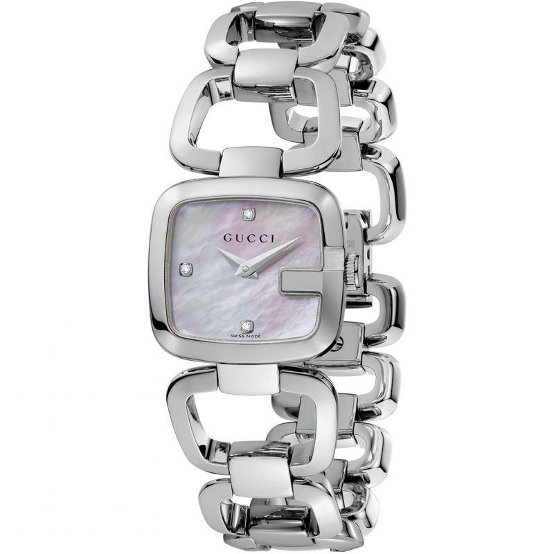 Ladies Gucci G-Gucci Diamond Watch