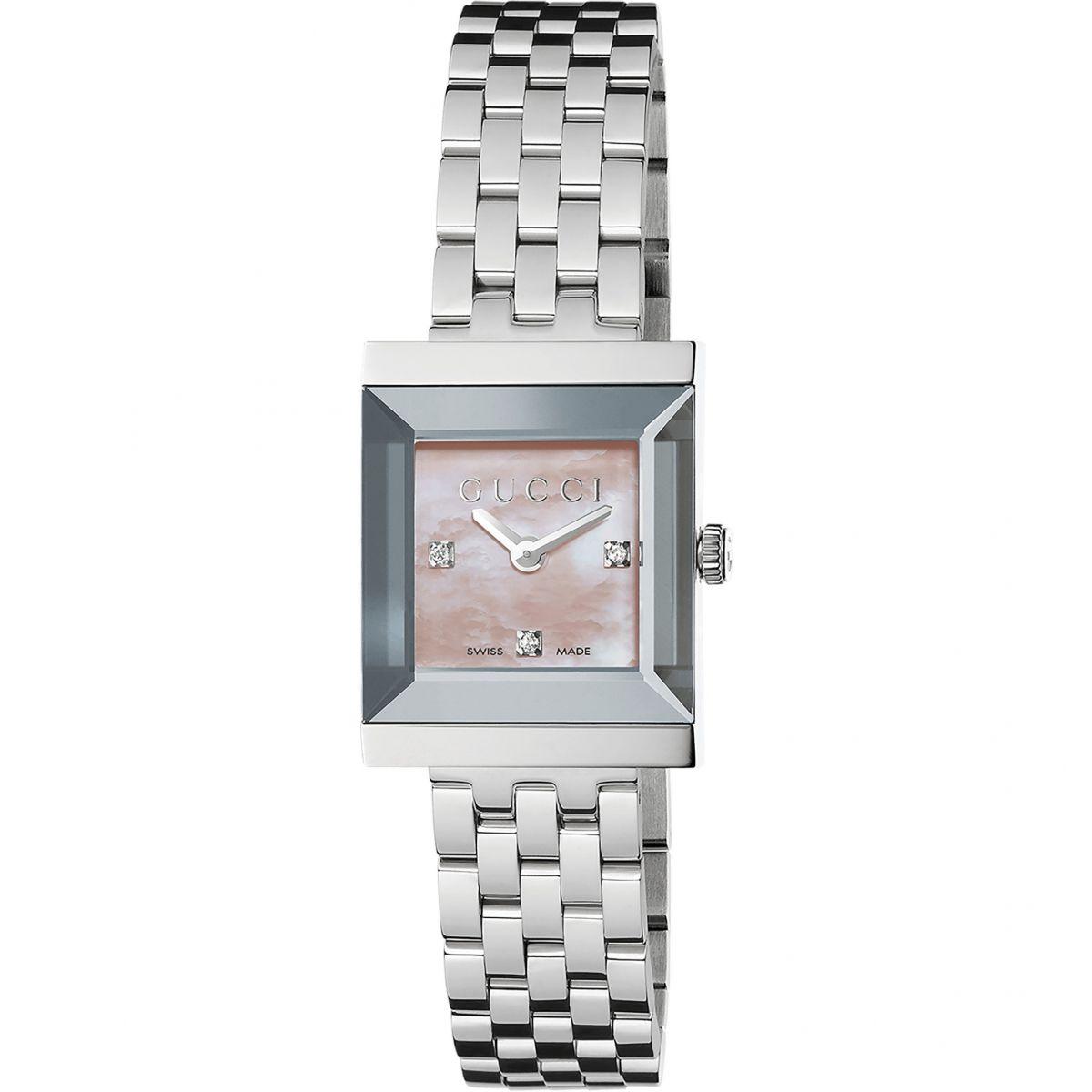Ladies Gucci G-Frame Watch (YA128401)   WatchShop.com™