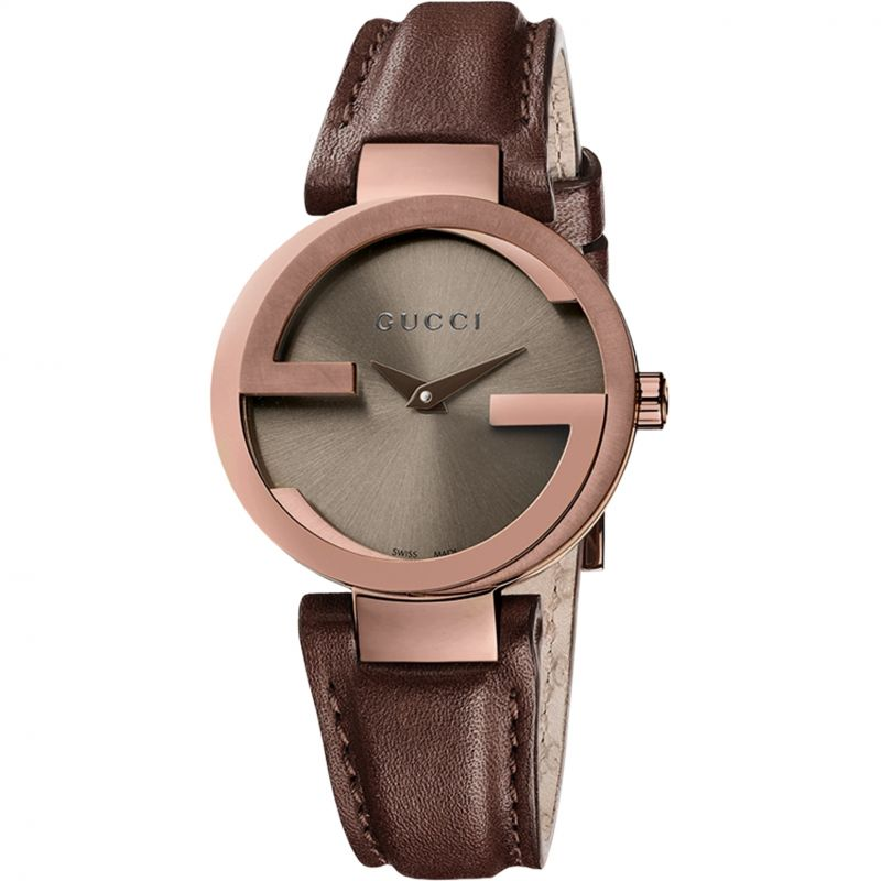 Ladies Gucci Interlocking Watch