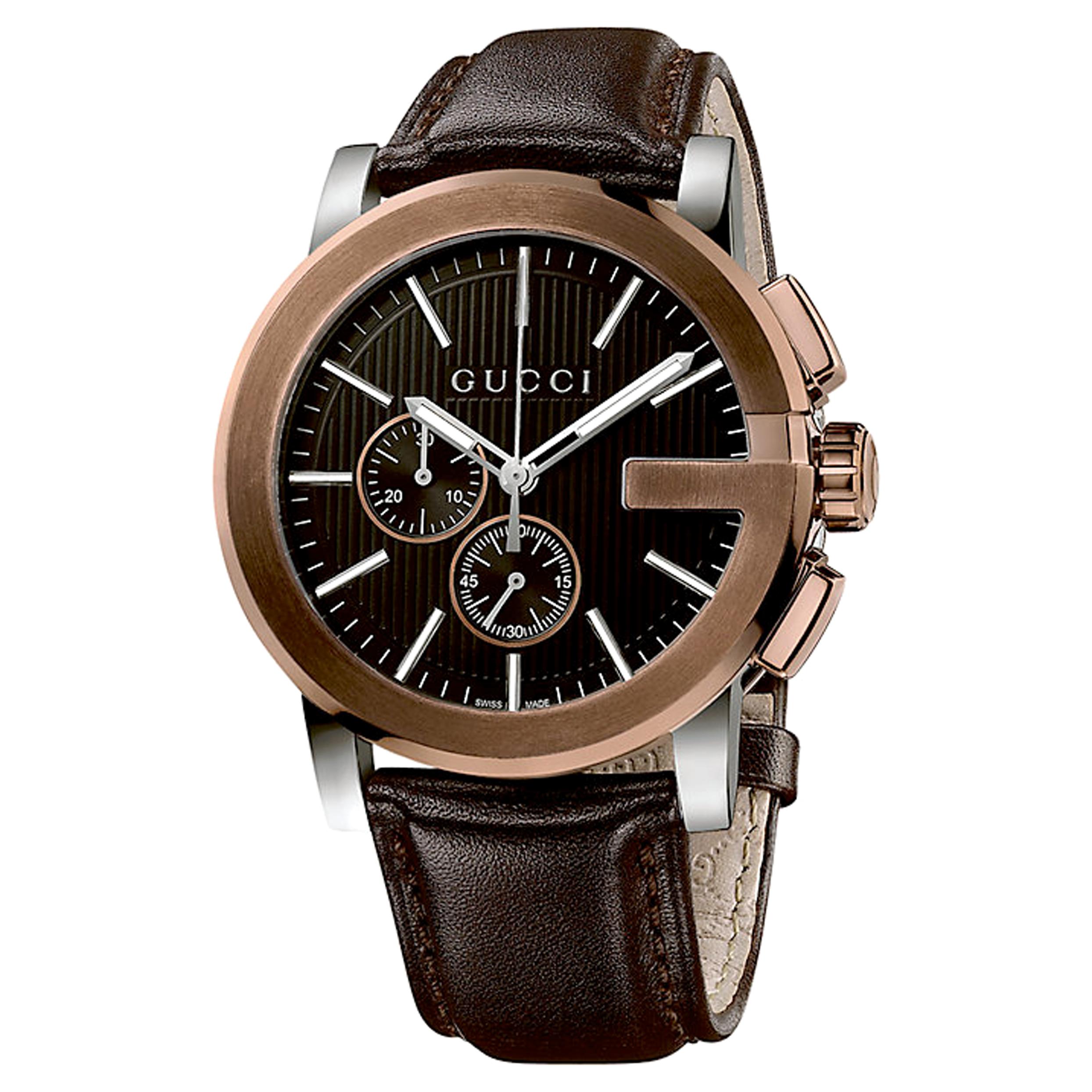 Gents Gucci G-Chrono Chronograph Watch (YA101202)  f95ff12550
