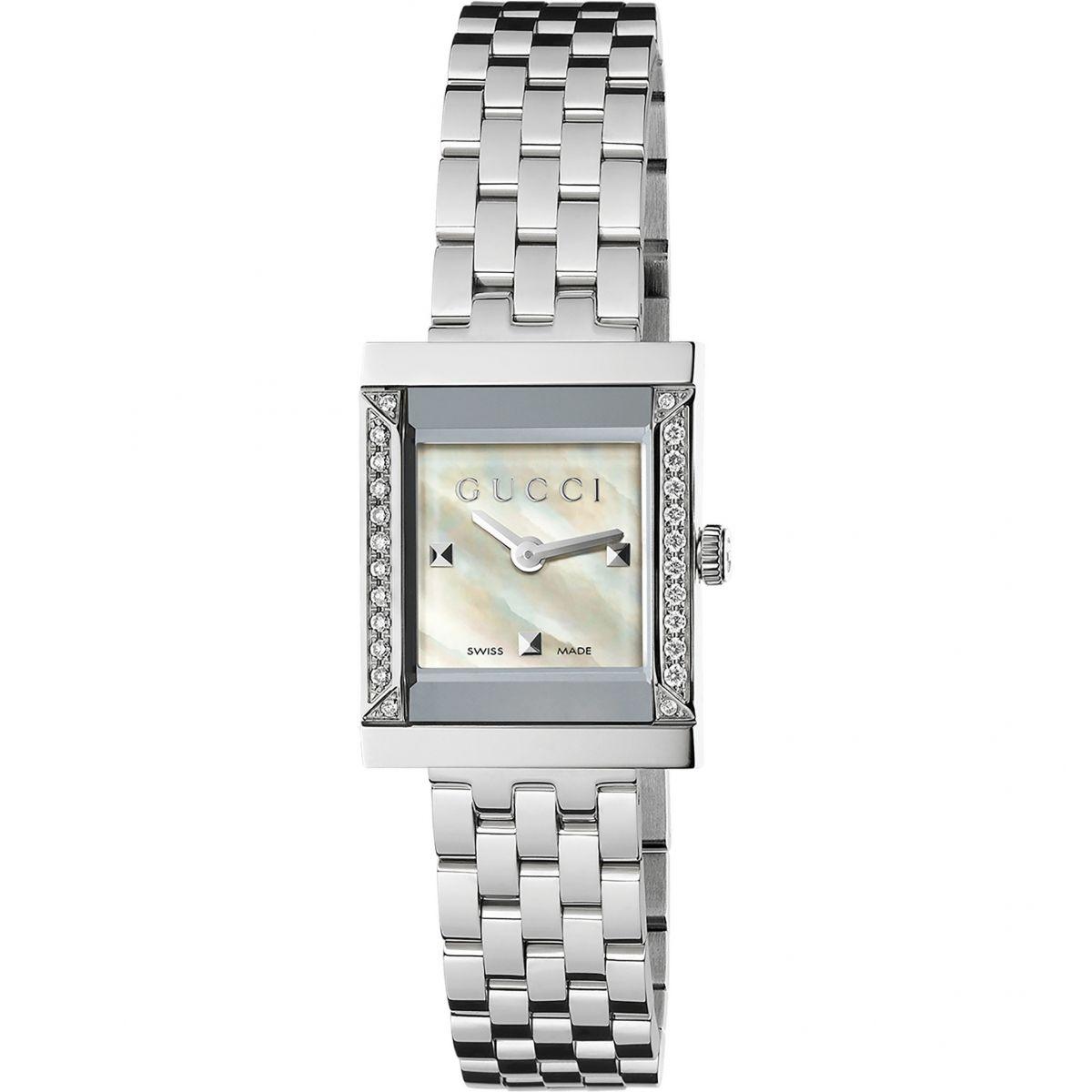 Ladies Gucci G-Frame Watch (YA128405)   WatchShop.com™