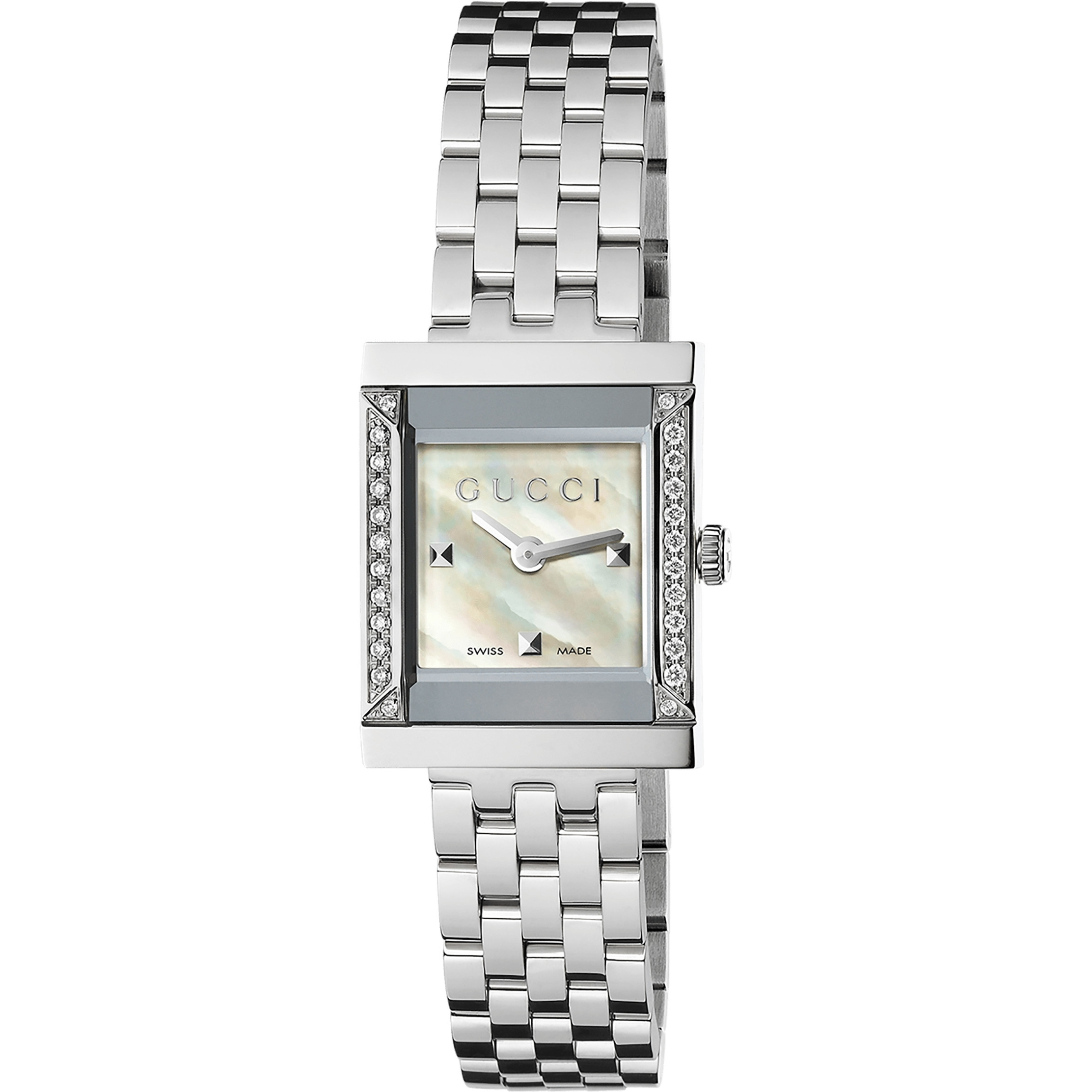 98250ff298d Ladies Gucci G-Frame Watch (YA128405)