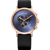 Mens Bering Chronograph Watch