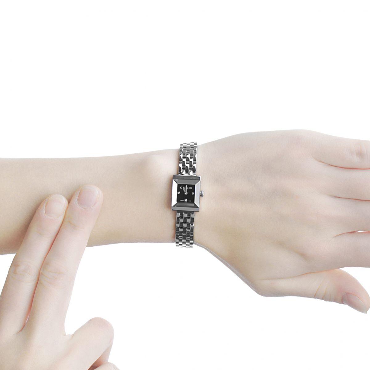 Ladies Gucci G-Frame Watch (YA128507)   WatchShop.com™