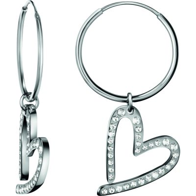 Ladies Calvin Klein Stainless Steel Joyous Earrings KJ2XWE040100