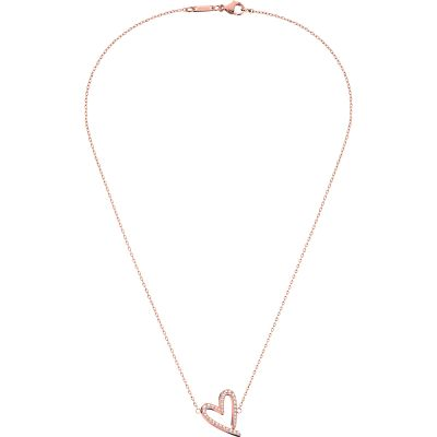 Ladies Calvin Klein PVD rose plating Joyous Necklace KJ2XWN140100