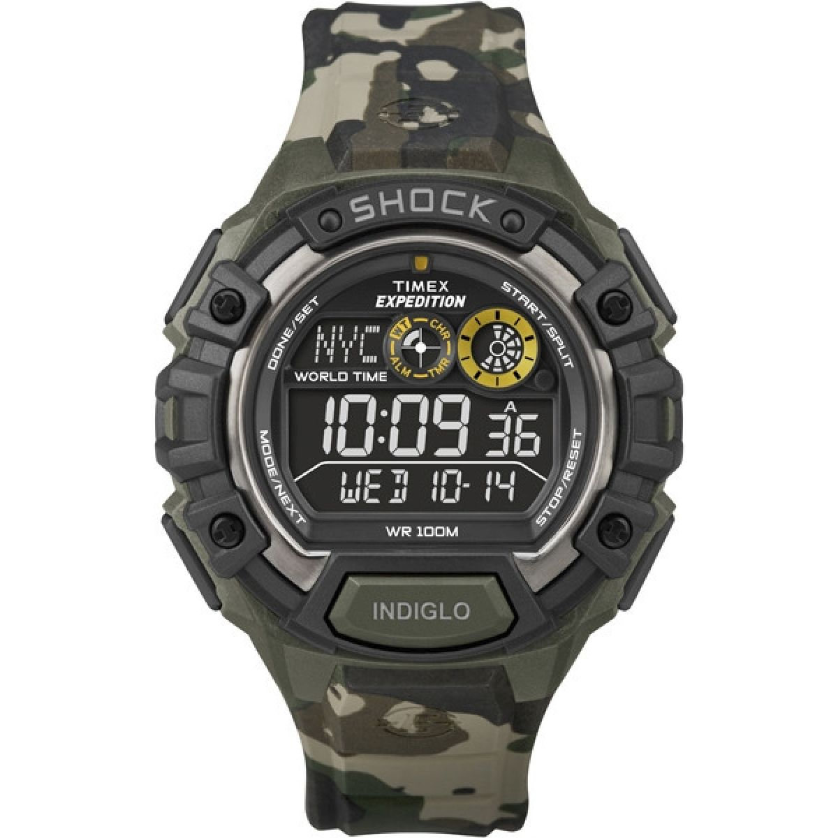 gents timex expedition alarm chronograph watch t49971 watchshop com rh watchshop com Camo Timex Expedition Indiglo Watch timex expedition digital compass watch instructions