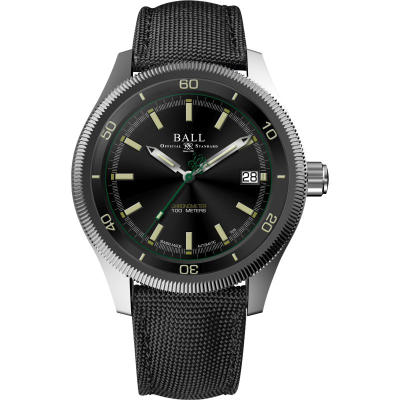 Mens Ball Engineer II Magneto S Chronometer Automatic Watch