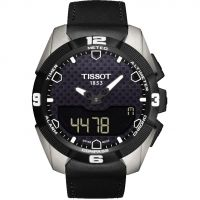 Mens Tissot T-Touch Expert Solar Titanium Alarm Chronograph Solar Powered Watch T0914204605100