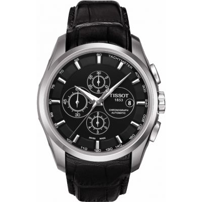 Mens Tissot Couturier Automatic Chronograph Watch T0356271605100
