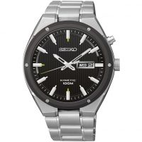 Mens Seiko Sports Kinetic Watch