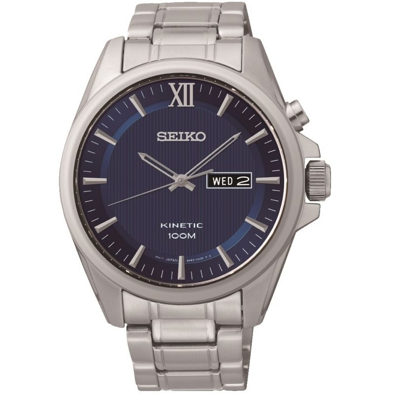 Mens Seiko Dress Kinetic Watch