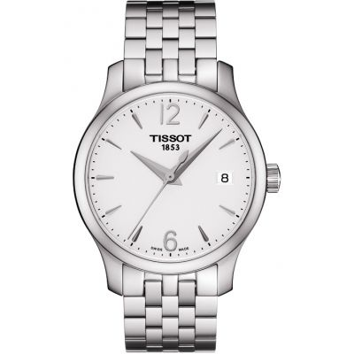Tissot T-Classic Tradition Damenuhr in Silber T0632101103700