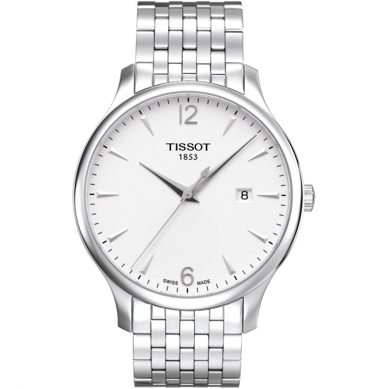 Mens Tissot Tradition Watch T0636101103700