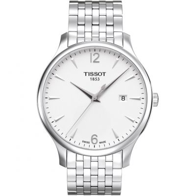 Tissot T-Classic Tradition Herrenuhr in Silber T0636101103700