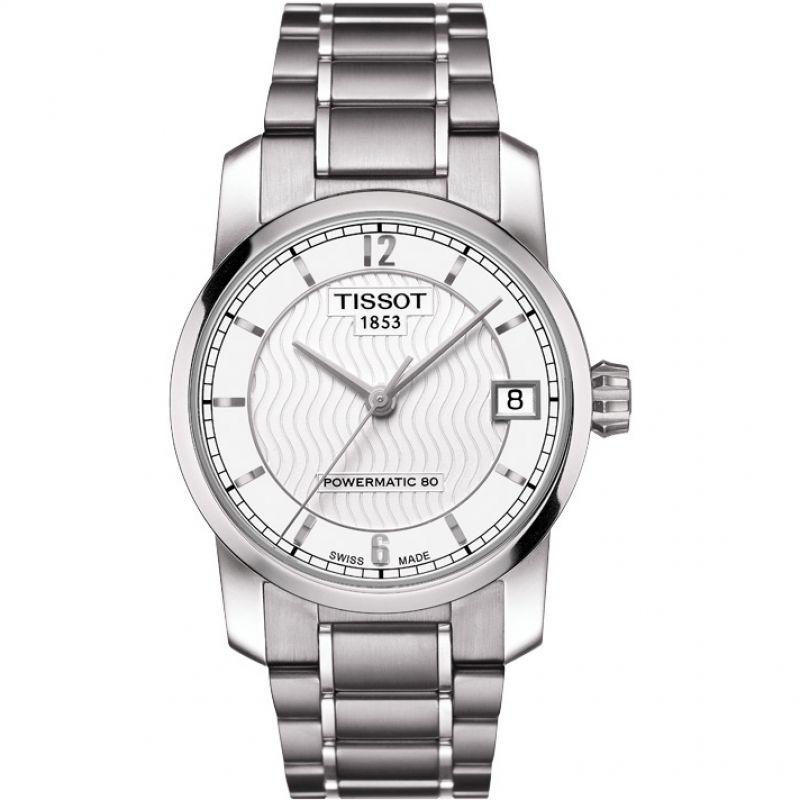 Ladies Tissot Titanium Titanium Automatic Watch