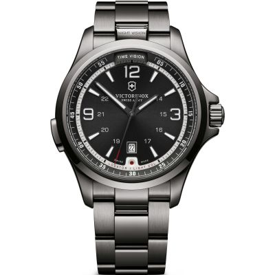 Victorinox Swiss Army Night Vision Night Vision Herrenuhr in Grau 241665