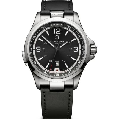 Mens Victorinox Swiss Army Night Vision Mechanical Watch 241664