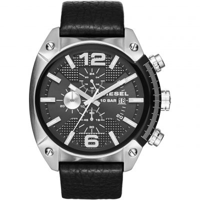 Mens Diesel Overflow Chronograph Watch DZ4341