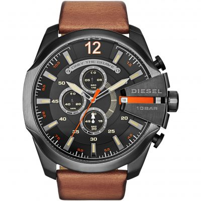 Diesel Chief Herrenchronograph in Braun DZ4343