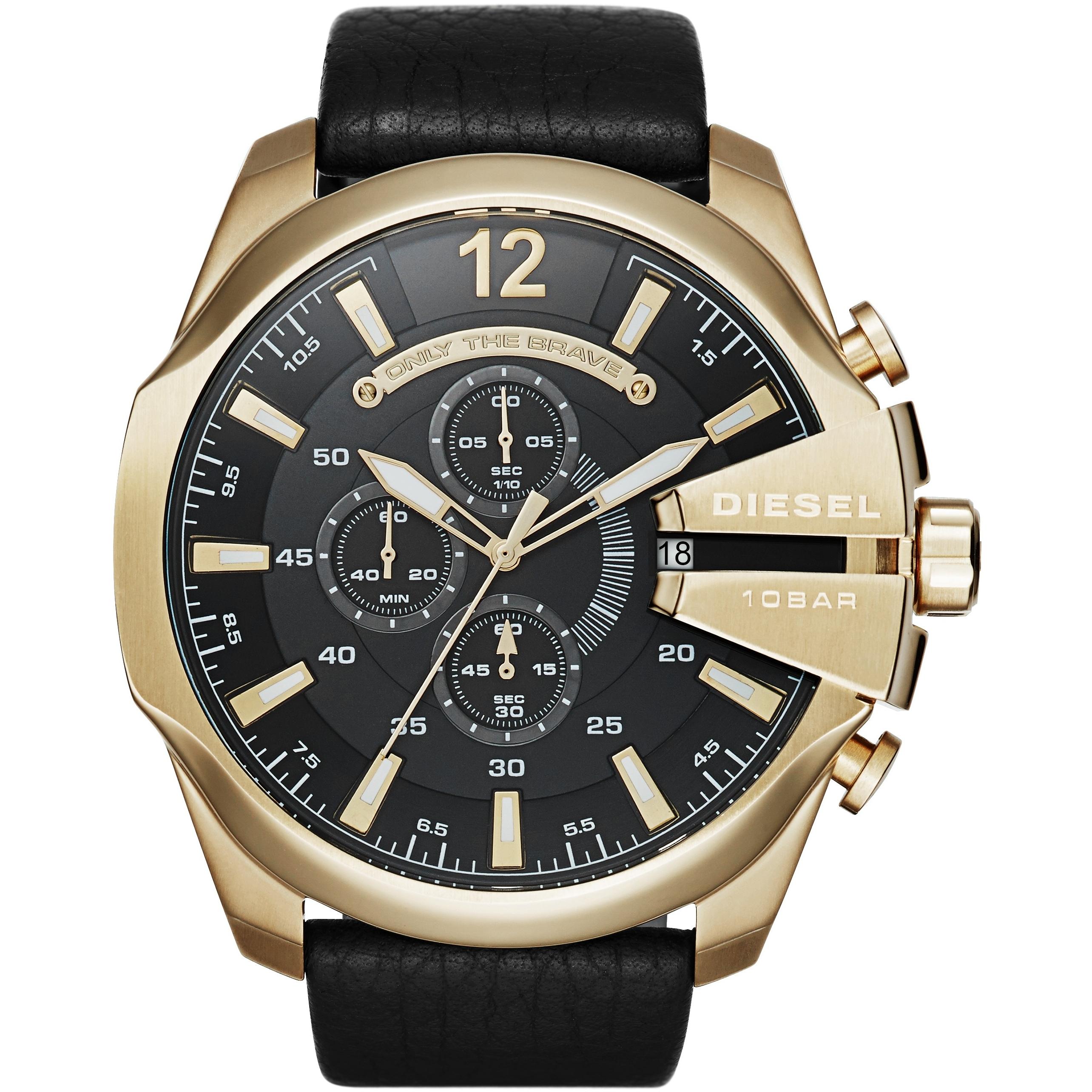 Watch 20. Diesel Mega Chief Gold Watch video