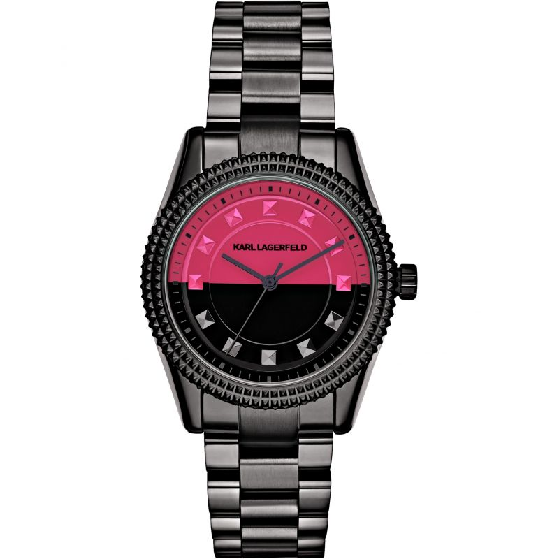 Ladies Karl Lagerfeld Petite Stud Watch