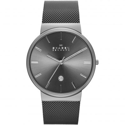 Skagen Ancher Herrenuhr in Silber SKW6108