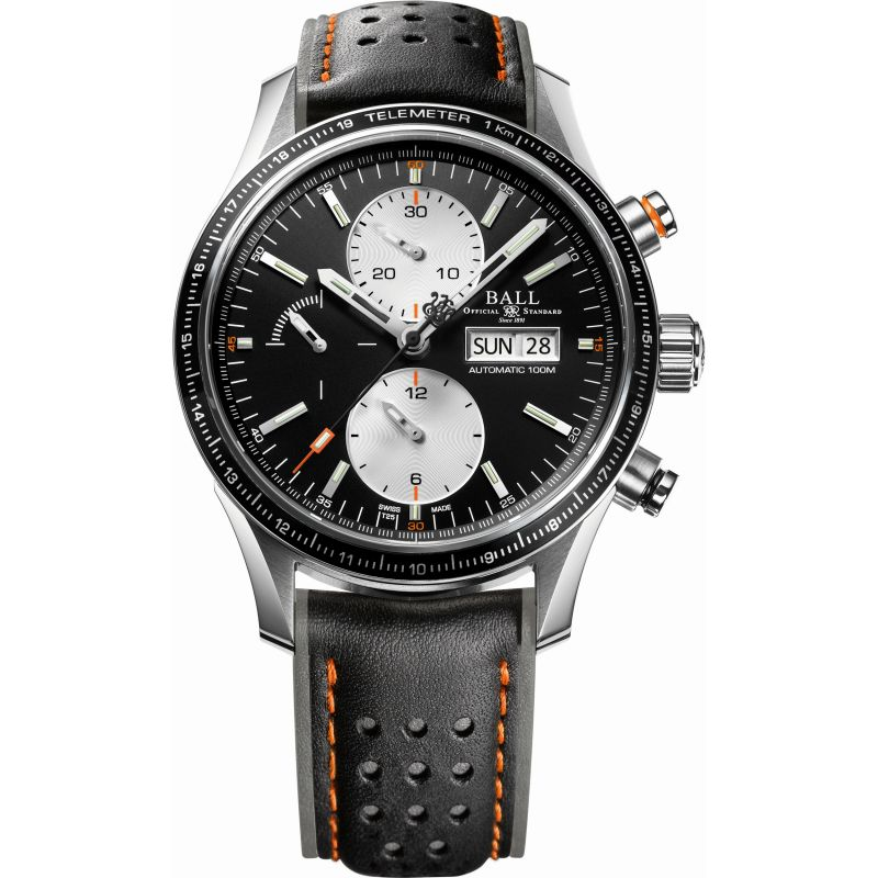 Mens Ball Fireman Storm Chaser Pro Automatic Chronograph Watch