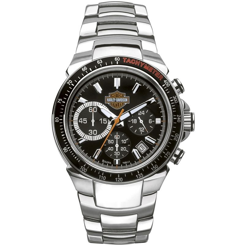 Mens Harley Davidson Chronograph Watch