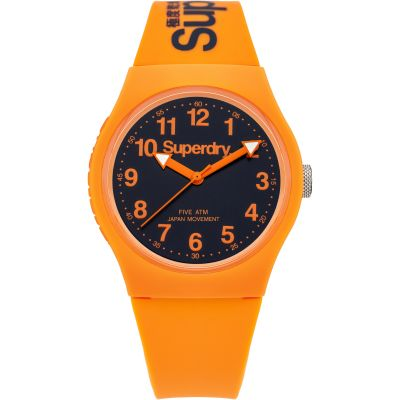 Superdry Urban Herrenuhr in Orange SYG164O