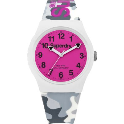 Superdry Urban Herrenuhr in Grau SYG164EP