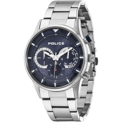 Mens Police Driver Watch 14383JS/03M