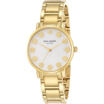 Kate Spade New York Gramercy Dot Damenuhr in Gold 1YRU0737