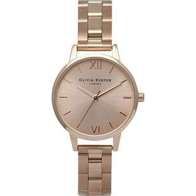 Sunray Rose Gold Watch
