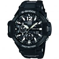 Mens Casio G-Shock Gravitymaster Compass Thermometer Alarm Chronograph Watch GA-1100-1AER