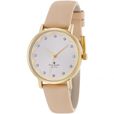Kate Spade New York Metro Damenuhr in Cremefarben 1YRU0586