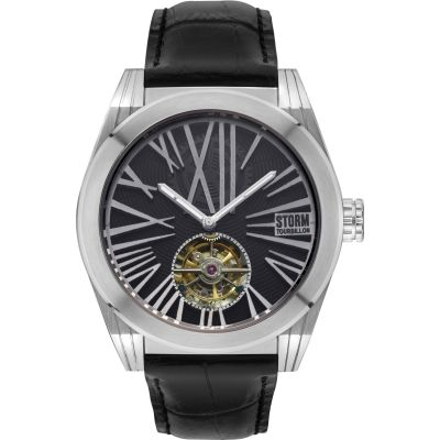 Zegarek męski STORM Tourbo-X Tourbillon Limited Edition TOURBO-X-SILVER