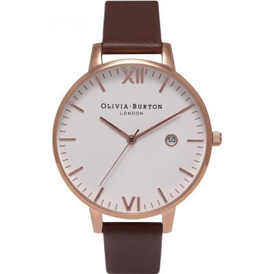 Timeless Brown & Rose Gold Watch