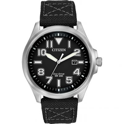 Citizen Sports Herrenuhr in Schwarz AW1410-08E