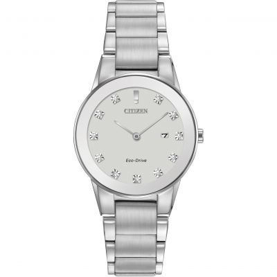 Ladies Citizen Eco-drive Axiom Stainless Steel Watch GA1050-51B