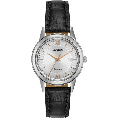 Citizen Damenuhr in Schwarz FE1086-04A