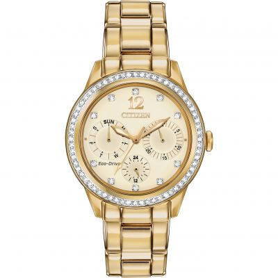 Ladies Citizen Silhouette Crystal Watch FD2012-52P