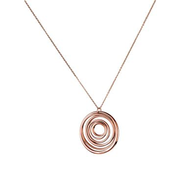 Ladies Calvin Klein PVD rose plating Sumptuous Necklace KJ2GPP100100