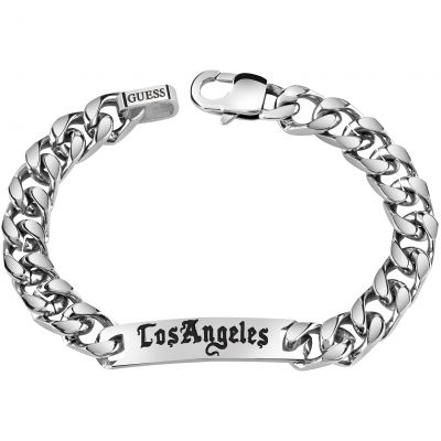Mens Guess Stainless Steel Bracelet UMB21527-L