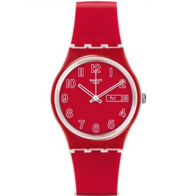 Montre Unisexe Swatch Original Gent - Poppy Field GW705