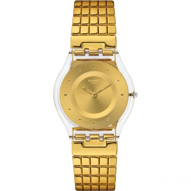 Ladies Swatch Skins - Golden Lips S Watch SFK394GB