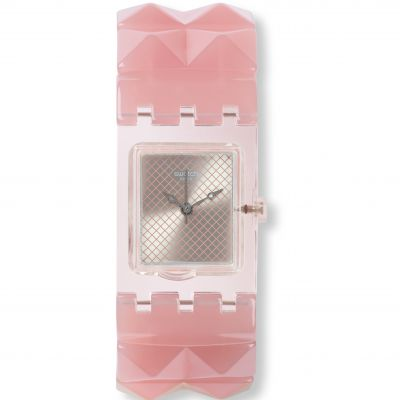 Ladies Swatch Original Square - Nude Posh S Watch SUBK158B