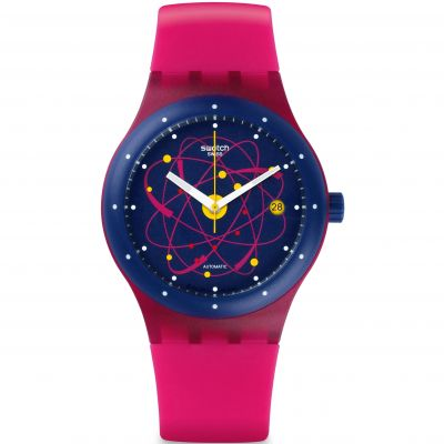 Swatch Sistem51 Originals Sistem 51 Unisexuhr in Pink SUTR401