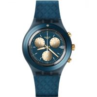 Unisex Swatch Irony Diaphane - Ardoise Chronograph Watch