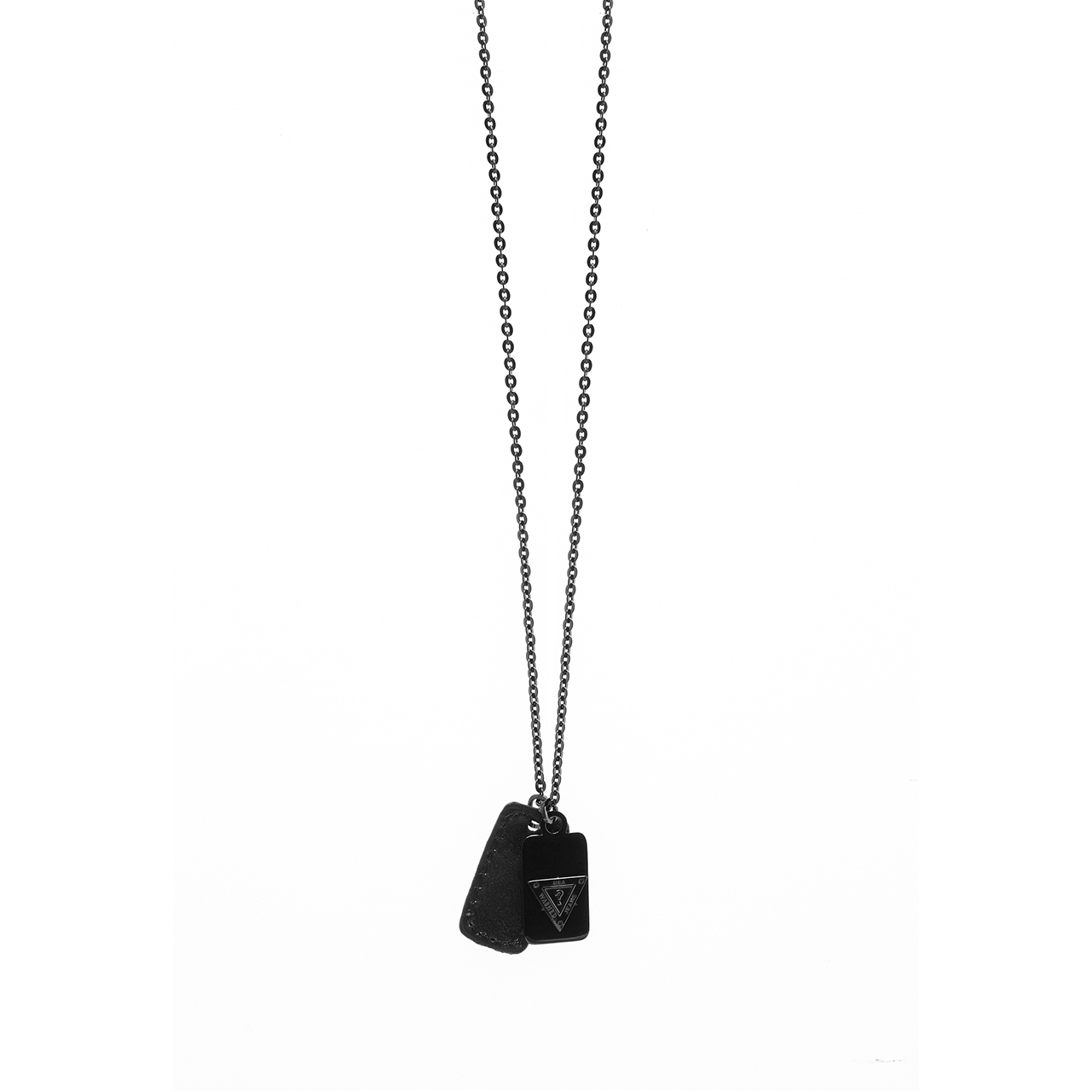 mens-guess-black-ion-plated-steel-necklace-umn21507 by guess-jewellery